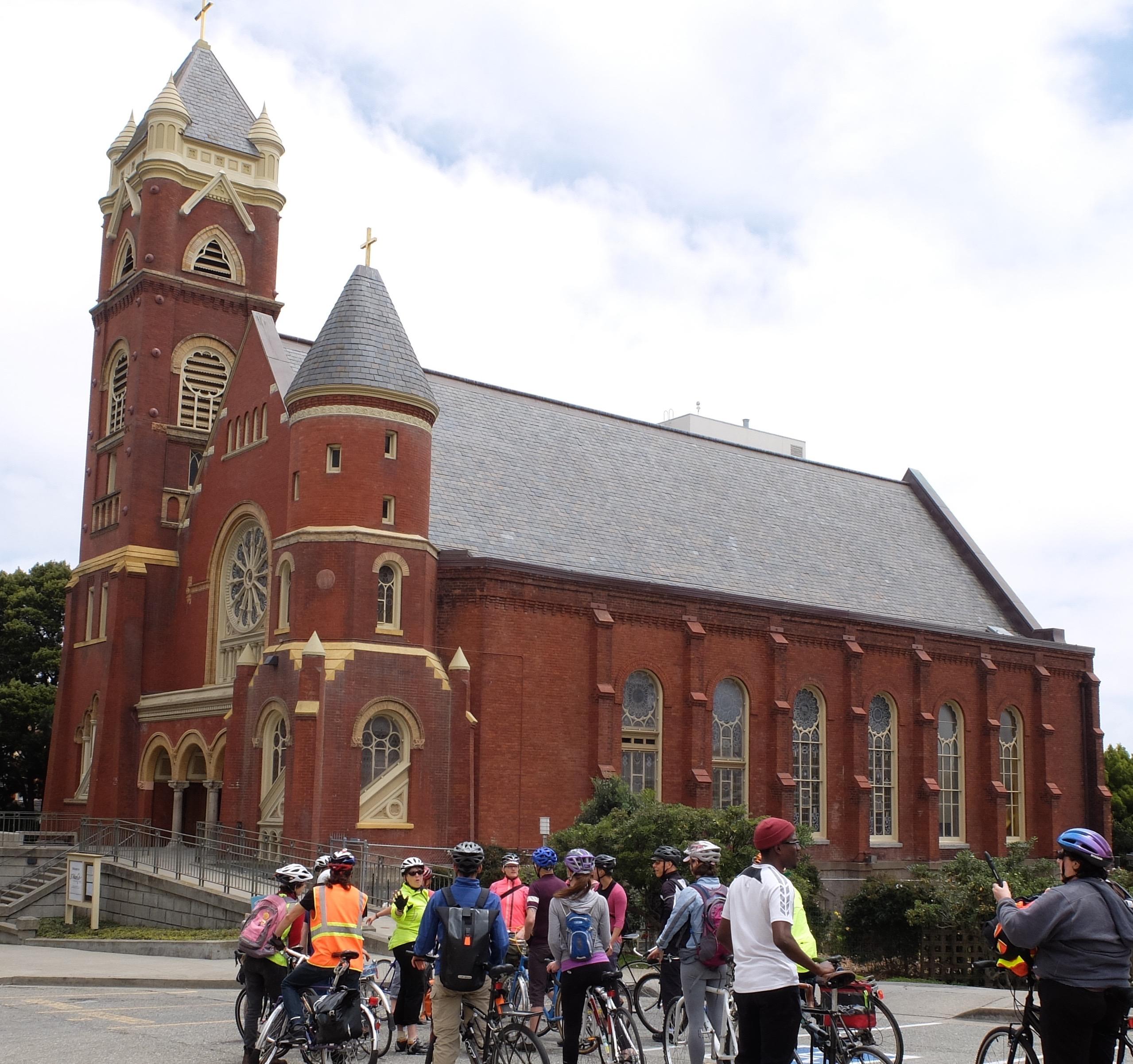 Interfaith ride - at St Mark's – Version 2
